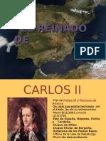 El reinado de Carlos II