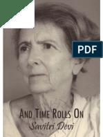Devi, Savitri - And Time Rolls on - The Savitri Devi Interviews (en, 1978, 212 S., Scan)