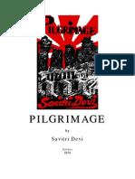 Devi, Savitri - Pilgrimage (en, 1958, 359 S., Text)
