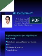 Splenomegaly By Dr Bashir Ahmed Dar Associate Professor Medicine Chinkipora Sopore Kashmir Email   drbashir123@gmail.com