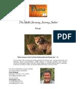 The Multi-Sensory Journey Safari with Duma  2/2013