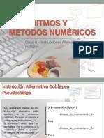 Clase 6 - Instrucciones Alternativas - Dobles (1)