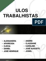 CÁLCULOS TRABALHISTAS_EMPREGADO MENSALISTA
