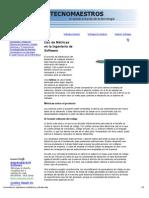 ____TECNOMAESTROS____ Uso de Métricas en la Ingeniería de Software