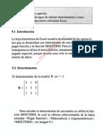 Determinantes y Transpuestas Con Excel