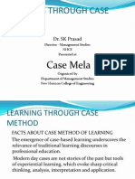 Learning Through Case Method