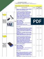 Grossiste Batterie Chargeur Solaire pour Téléphone MP3,legabox.com