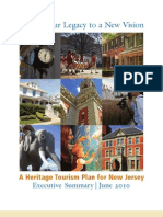 Heritage Tourism Plan for New Jersey -- Executive Summary