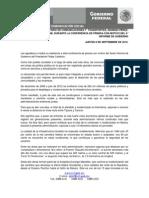 060912 Conferencia Dpjf Sexto Informe