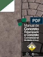 ManualConcretoEstampadoConvencionalMoldadoInLoco
