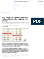 GDP Projections From PwC_ How China, India and Brazil Will Overtake the West by 2050 _ News _ Guardian.co.Uk