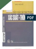 Hướng dẫn giải các bài toán xác suất - Thống kê  Tác giả