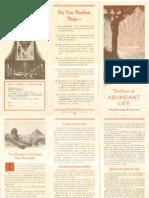 AMORC - The Dawn of Abundant Life (1930/1931)