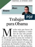 Francesc-Marc Álvaro. Trabajar Para Obama