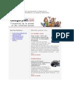 Categorynet.com 14 janvier 2009