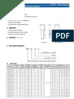 MF72 NTC Termistor