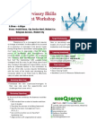 Basic Supervisory Skills Development Workshop - November 7 and 8, 2012