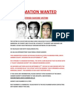 Lyle Stevik Information Wanted 2
