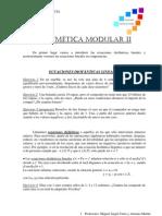 Artimetica Modular II