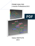 Frame Analysis by Autodesk Inventor 2012