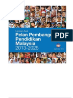 Pelan Pembangunan Pendidikan Malaysia 2013-2025 CAPTION SOME POINTS