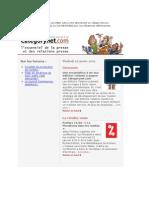 Categorynet.com 16 janvier 2009