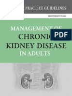 CPG Management of Chronic Kidney Disease in Adults