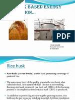 Rice husk based energy generation…