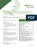 Ficha Tecnica - Edgetherm_THM_3000