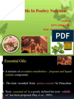 Essential Oils in Poultry Nutrition