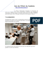 """Fabrication de l'Elixir du Suédois au laboratoire """"elixirdusuedois.fr"""""""