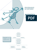 Programa de Matematicas Para Tercer Ciclo de Basic
