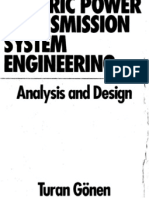 Electric Power Transmission System Engineering Analysis and Design