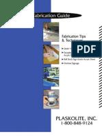 Acrylic Sheet Fabrication Guide
