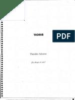 _Es Alegre El Arte_ - Theodor Adorno