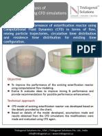 Case Study_Ester Reactor