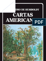 Cartas Americanas (Biblioteca Ayacucho) - Alexander Von Humboldt