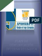 PLAN DE COMUNICACIÓN INTERNA APROSUBA 11