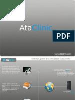 AtaClinic, Tu clínica en la nube