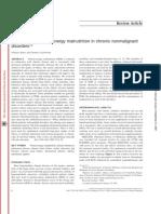 TX de Malnutrici[on Calorico Proteica en Enf Cronica No Maligna