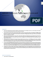 ASEAN Corporate Governance Scorecard Template