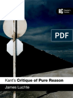 James Luchte-Kant's Critique of Pure Reason a Reader's Guide(2007)