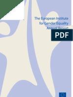 EIGE Annual Report 2011 Web