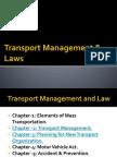 Transport Management & Law