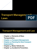 Transport Management & Law