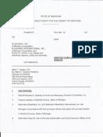 Geaney vs Harr/BlueWare Lawsuit