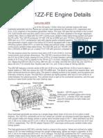 1ZZFE Engine Details