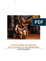 Calendario Liturgico Agosto