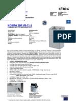 KOBRA 260 HS 2-6