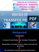 Issues in Transfer Pricing